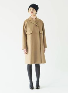 SINDEE 15A/W「Over Wool Coat」