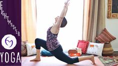 Vinyasa Flow Chest and Shoulder Opening With Fightmaster Yoga