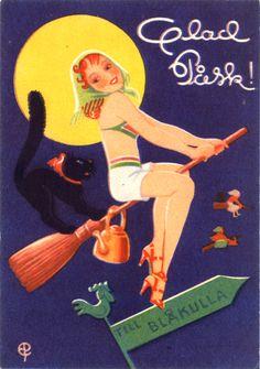The Scandinavian Easter Witch - Enlightenment.Com