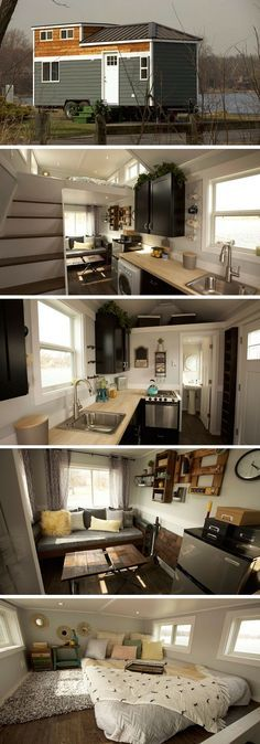 The Notarosa tiny house: measures a total of 250 square feet and it made just ou... - http://centophobe.com/the-notarosa-tiny-house-measures-a-total-of-250-square-feet-and-it-made-just-ou/ -
