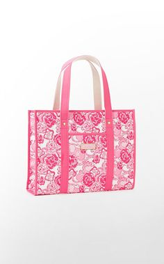 The Original Tote Sorority in Conch Shell Pink Phi Mu $88 (w/o 7/29/12) #lillypulitzer #fashion #style