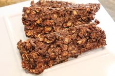 Easy, delicious and healthy Apple Chocolate Oatmeal No-Bake Protein Bars recipe from SparkRecipes. See our top-rated recipes for Apple Chocolate Oatmeal No-Bake Protein Bars. No Bake Protein Bars, Best Protein Bars, Protein Bar Recipes, Snack Recipes, Whey Protein, High Protein, Protein Mix, Breakfast Recipes, Peanut Butter Oat Bars