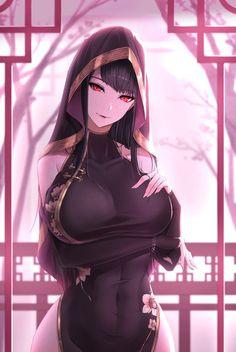 Ecchi and Sexy Thicc Anime, Fanarts Anime, Anime Sexy, Female Characters, Anime Characters, Manga Japan, Girls Manga, Ecchi Girl, Beautiful Anime Girl