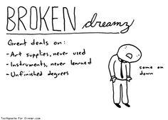 I don't want this to ever be me. :( I need to work harder.