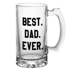Best. Dad. Ever Tumber or Beer Mug  Father's Day