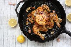 Pečené cesnakové kura