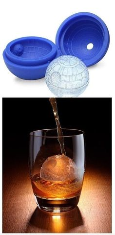 Deathstar Ice Cube Mold : That's no moon. Its an ice cube.  AMAZING!!!