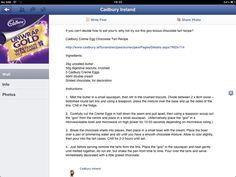 Cadbury creme egg tart