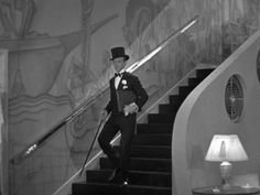 The Style Essentials--Fred Astaire and Ginger Rogers Dance in 1935's Art Deco TOP HAT   GlamAmor