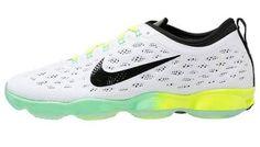 Nike Zapatillas Fitness E Indoor White Black Green Glow Volt bambas deportivas Zapatillas white Volt Nike Green Glow fitness E Indoor black Noe.Moda