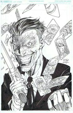 Suicide Squad cover By Jim Lee Comic Book Artists, Comic Artist, Comic Books Art, Joker Art, Batman Art, Joker Arkham, Comic Book Villains, Jim Lee Art, Jokers Wild