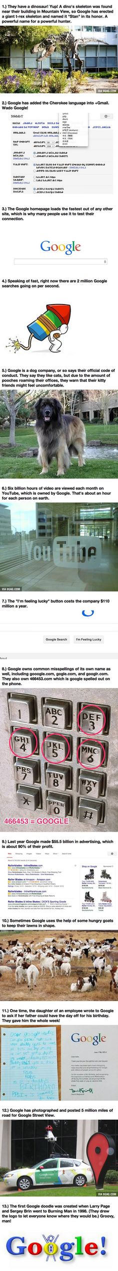 Little Known But Crazy Facts About Google Prove They're Going To Take Over The World Weird Facts, Fun Facts, Crazy Facts, Random Facts, Google Facts, Google Funny, Epic Story, Smiles And Laughs, The More You Know
