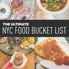 We had an ambitious list of 49 places to eat in NYC to get through in 5 days. Even though we didn't get to all of them, we had a very successful trip!
