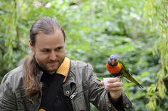 David Genillard, lors d'un reportage à Bristol.