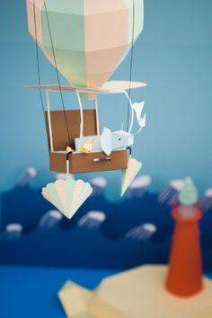 paper balloon travels.