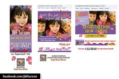 Just Between Friends (JBF) Tucson, Custom Facebook Page - Designed by The Marketing Twins Between Friends, Facebook Fan Page, The Marketing, Tucson, Page Design, Get Started, Just Love, Create Yourself, Twins