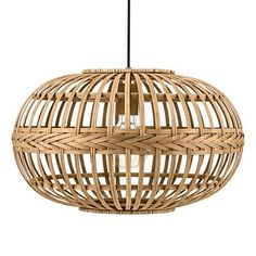 Eglo Amsfield Bamboo Woven Wicker Pendant Light The Amsfield pendant light by Eglo Lighting draws its inspiration from traditional Asian cultures where bamboo woven wicker techniques are widely used for crafting. Ceiling Pendant, Pendant Lamp, Pendant Lighting, Ceiling Lights, Ceiling Rose, Wicker Pendant Light, Modern Pendant Light, Lustre Vintage, Deco Luminaire