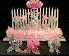 Sweet 16 Candelabras Candle Holder Lighting Ceremony Princesses