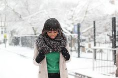 how to knit a circle snood round infinity scarf by I Want You To Know UK Fashion Blog, via Flickr