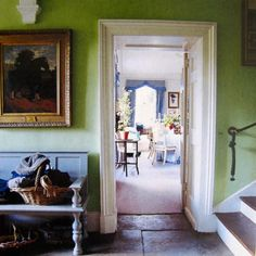 spring green English entry of the Duchess of Devonshire