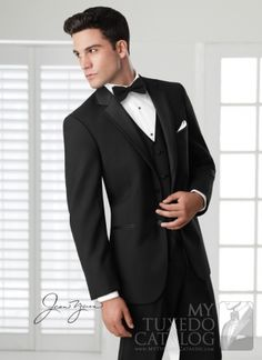 Black Twilight Tuxedo Suit For Wedding Groom Tuxedos