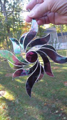 Stained Glass Sun catcher Ornament 8 sold   Home & Garden, Home Décor, Suncatchers & Mobiles   eBay!