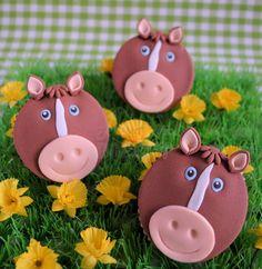 Paarden cupcakes