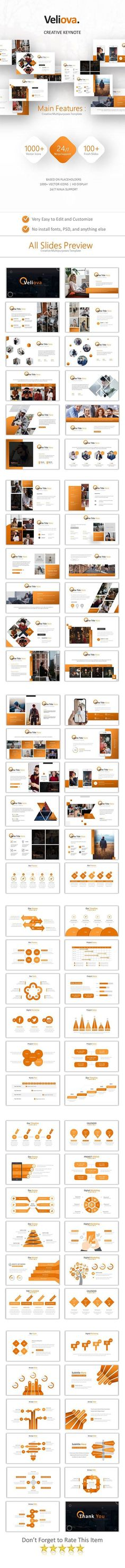 Buy Veliova Keynote Template by Pro_Tools_Design on GraphicRiver. Main Fitures: Unique Slides Based on Placeholders HD Display Keynote Files Vector Icons Highly Editab. Presentation Design, Presentation Templates, Keynote Presentation, Creative Powerpoint Templates, Keynote Template, Tool Design, Verona, Social Media, Mockup