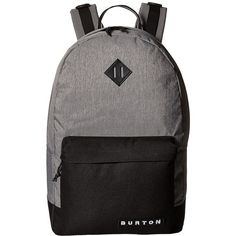 4f579ade52fa Burton Kettle Pack (Grey Heather) Day Pack Bags ( 50) ❤ liked on Polyvore  featuring bags