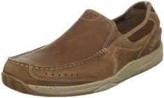 Clarks Men's Vestal Slip-On Clarks. $59.98. Slip on styling with dual stretch gore panels for a flexible and comfortable fit. Men's Clarks, Vestal. removable foam cushioned footbed. Rubber sole. leather. A nubuck leather slip on boat casual style. breathable mesh linings keep feet comfortable, dry and cool