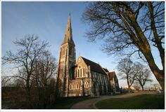 Small churches of Denmark | Home > Copenhagen > St Alban's Anglican Church.