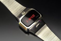 Pulsar P4 Dress (Stainless) Sport Watches, Cool Watches, Watches For Men, Led Watch, Digital Watch, Luxury Watches, Space Age, Wristwatches, Mid Century