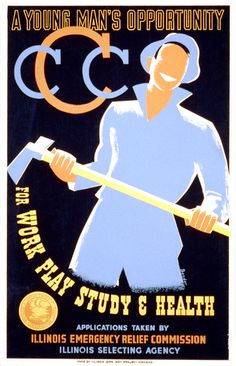 CCC-poster-1935 - Civilian Conservation Corps - Wikipedia, the free encyclopedia