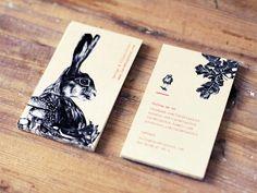 Lara Bispinck – Design & Illustration, business cards in M y w o r k