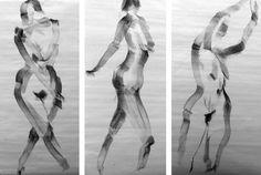 Gesture drawings by joel armstrong, via Behance