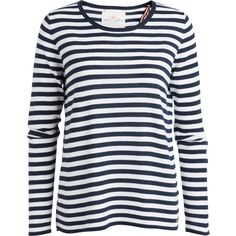 Fine Knit Sweater (187130 PYG) ❤ liked on Polyvore featuring tops, sweaters, print top, navy top, pattern sweater, navy sweater and fine knit sweater