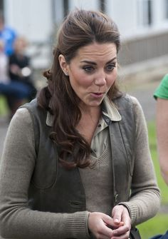 Kate Middleton Photos: The Duchess of Cambridge Visits 'Expanding Horizons' Primary School Outdoor Camp