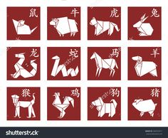 Image result for origami rooster drawing