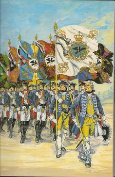 The Army of Frederick the Great 1756 - 1763
