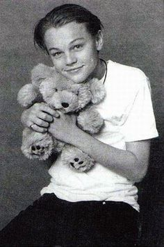 Leonardo DiCaprio. Does this not look like it was taken straight from the pages of Tiger Beat?