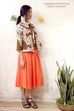 Batik Amarillis s West and girl ...The western inspired style of clothing  is true 4999c95c17