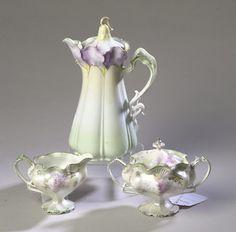 RS Prussia Tea Set - just so beautiful
