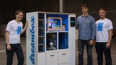 DreamBox - Vending Machine That Can Print 3D Objects