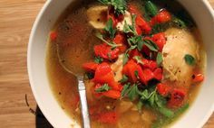 Cook The Ultimate Chicken Soup Kick the canned crap out of your kitchen!  By Paul Kita, January 02, 2014