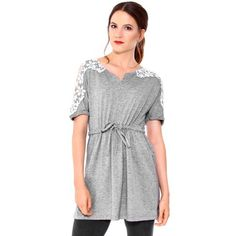 Simplicity Summer Floral Lace Short Sleeve Long Tunic Beach Dress Grey M - Grey Dresses - Ideas of Grey Dresses Grey Dresses, Sleeveless Tunic, Clubwear, Dress Fashion, Flare Dress, Floral Lace, White Lace, Lace Shorts, Lace Trim