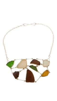 Galinhos Glass Necklace by b.mookie. Limited Edition. (scheduled via http://www.tailwindapp.com?utm_source=pinterest&utm_medium=twpin&utm_content=post1514581&utm_campaign=scheduler_attribution)