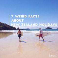 7 weird facts about New Zealand holidays