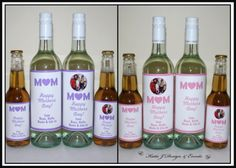 #Katie #J #Design #And #Events #Mothers #Day #Personalised #Wine #Bottle #Labels #Gifts #Presents