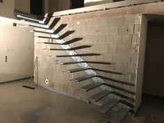 Montage, Floating Stairs, Modern, Divider, Room, Staircases, Furniture, Home Decor, House Staircase