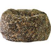 Found it at Wayfair - Kit Kat Safari Bean Bag Chair